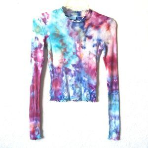 ABOUND Custom Tie Dye Crop Top